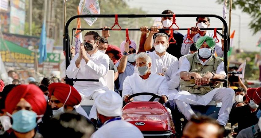 राहुल गांधी के काफिले को मिल गई इजाजत, समर्थकों संग हरियाणा में किया प्रवेश....