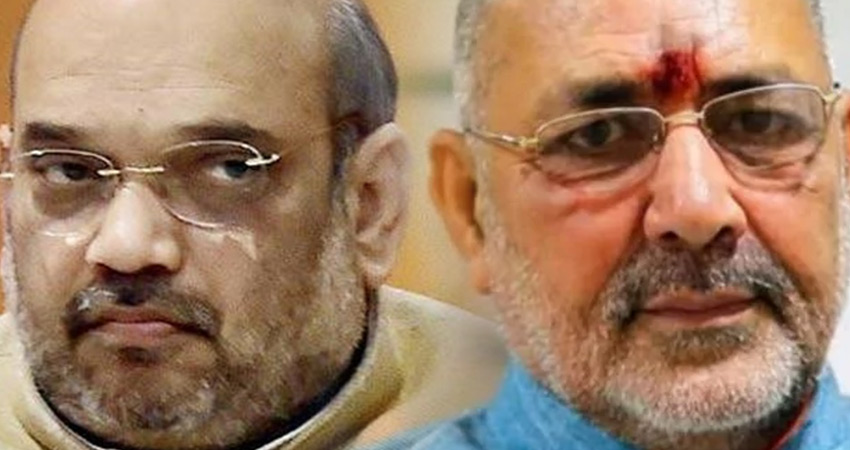 गिरिराज सिंह की नाराजगी से भी नहीं पसीजे भाजपा अध्यक्ष अमित शाह