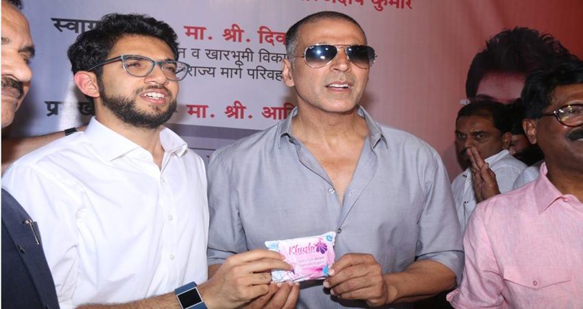 खिलाड़ी कुमार से ''पैडमैन'' बने अक्षय ने मुंबई की महिलाओं को दिया ये खास तोहफा