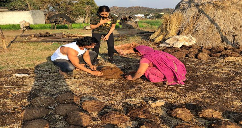 Pics: जे पी दत्ता की ''पलटन'' के लिए हर्षवर्धन राणे जी रहे कुछ ऐसी जिंदगी