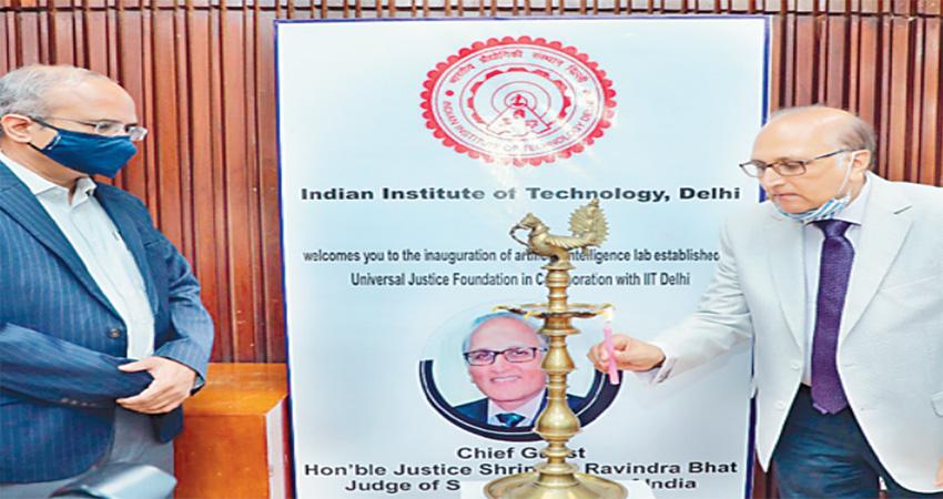 IIT Delhi ने UFJ कृतिम बुद्धिमत्ता व नवाचार लैब का किया उद्घाटन