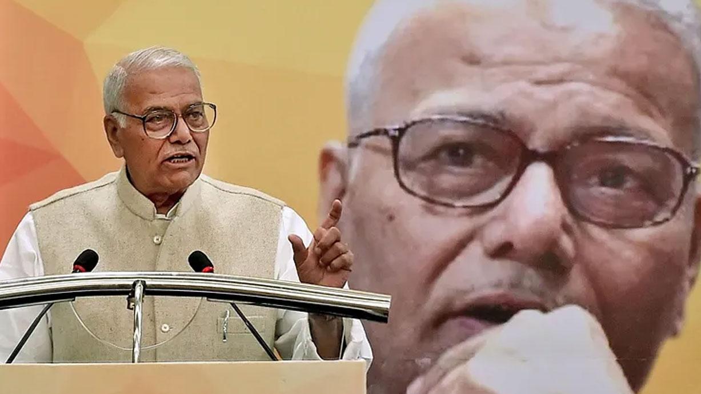 यशवंत सिन्हा ने BJP-RSS पर लगाया सांप्रदायिकता फैलाने का आरोप, अटल को किया याद