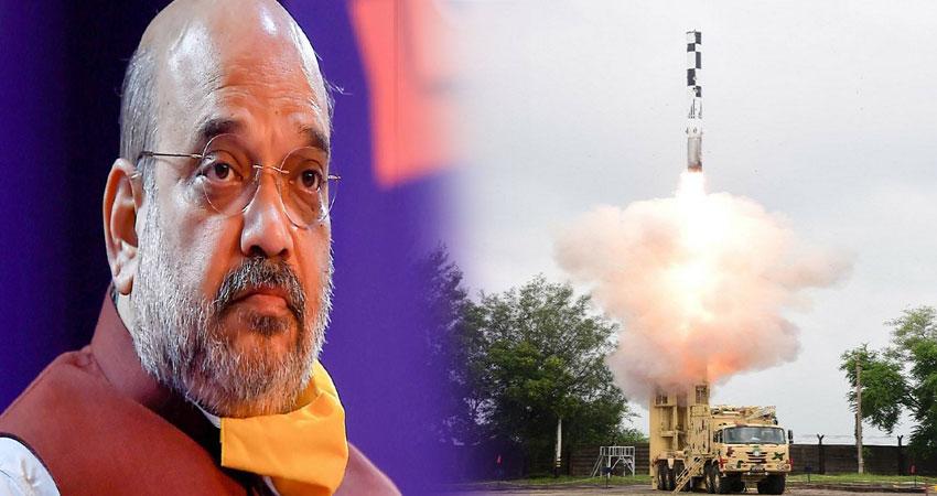 ब्रह्मोस सुपरसोनिक मिसाइल के सफल परीक्षण पर अमित शाह ने कहा- भारत के लिए गर्व की बात