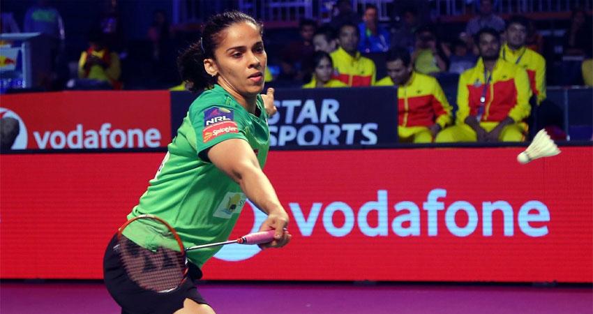 साइना ने जीता इंडोनेशिया मास्टर्स का खिताब, बीच मुकाबले से हटीं मारिन