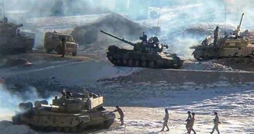 लद्दाख के गोगरा पोस्ट से पीछे हटे चीन के सैनिक, सभी ढांचे गिराए गए