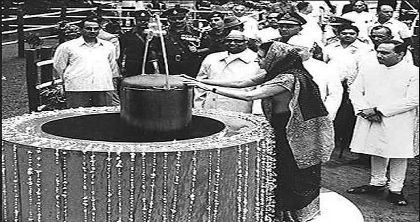 टाइम कैप्सूल: जब इंदिरा गांधी ने लालकिले में 32 फीट नीचे रखे थे साक्ष्य, मच गया था बड़ा बवाल
