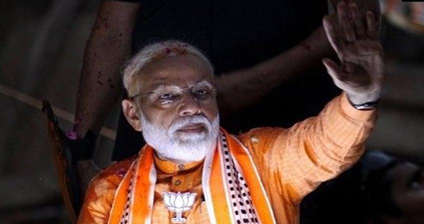 मोदी लहर और राष्ट्रवाद पर सवार हुआ हिंदुस्तान