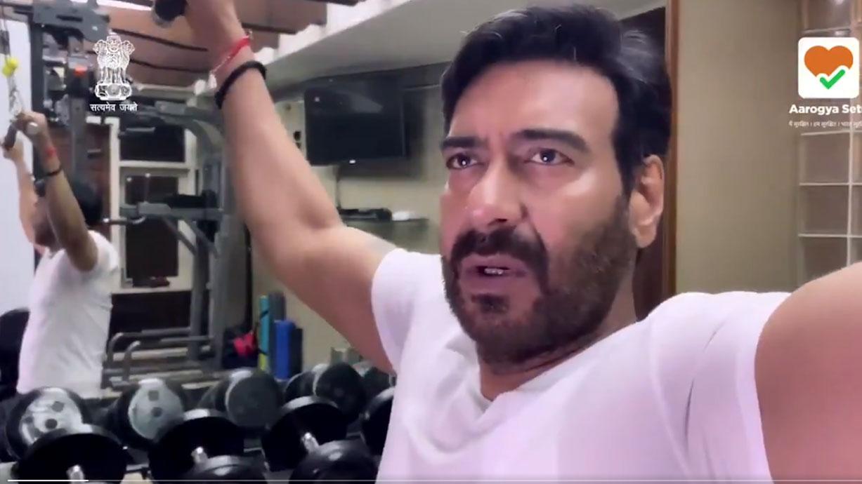 कोरोना से लड़ाई में PM मोदी के साथ आए अजय देवगन, Arogya setu के लिए बने ''बॉडीगार्ड''
