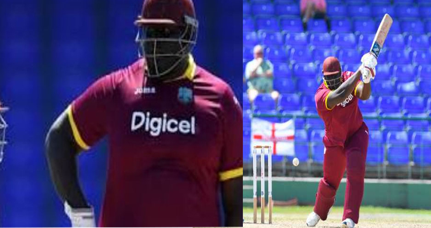 वेस्टइंडीज अब इस खिलाड़ी के दम पर जीतेगी मैच, 140 Kg वजन के खिलाड़ी को टीम में बुलाया