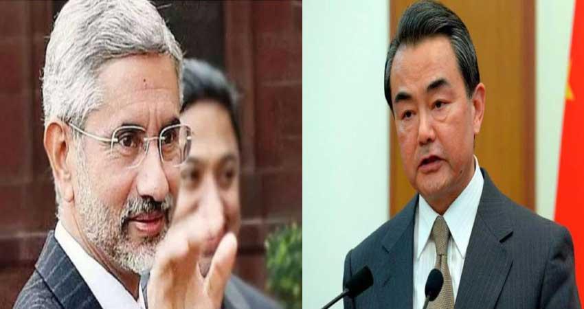 चीनी विदेश मंत्री से बोले एस जयशंकर, कहा- गलवान हमले को चीन ने पहले ही कर लिया था Plan