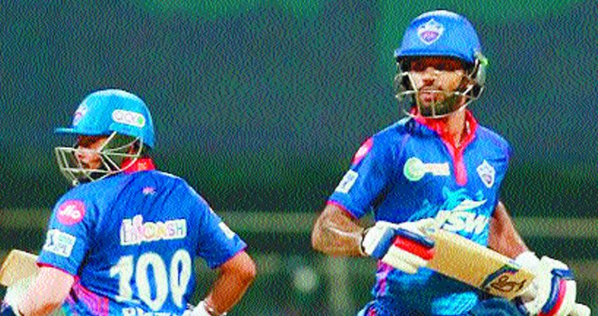 IPL 2021 : चेन्नई सुपर किंग्स पर दिल्ली कैपिटल्स की आसान जीत