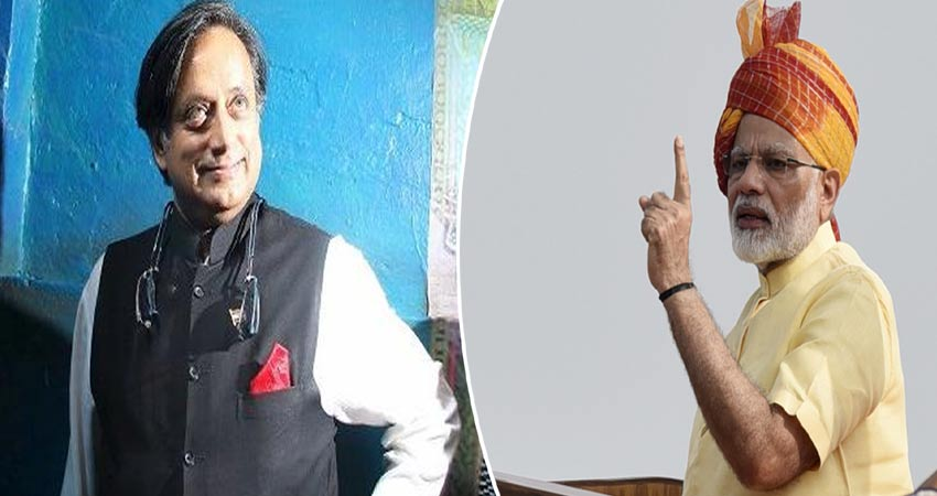 शशि थरूर ने PM पर साधा निशाना, कहा- मुस्लिम टोपी पहनने से क्यों बचते हैं मोदी?