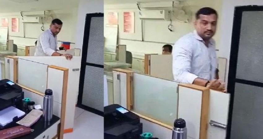 महिला बैंककर्मी के साथ सिपाही की मारपीट की वीडियो वायरल होने के बाद महिला आयोग ने लिया संज्ञान