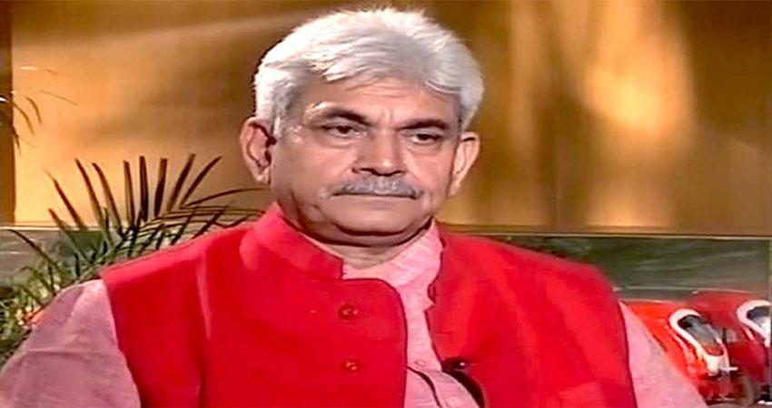 जम्मू कश्मीर के उपराज्यपाल ने कहा-पाकिस्तान के मंसूबे को लेकर नौजवान रहें सतर्क