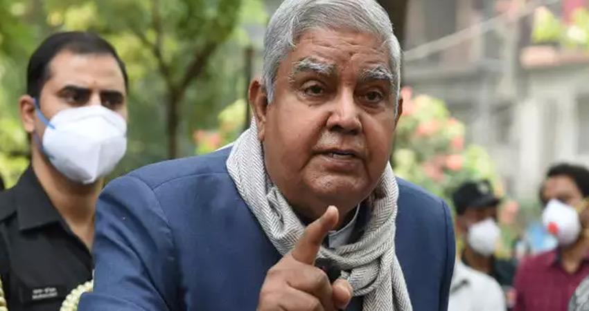 बंगाल विस अध्यक्ष ने राज्यपाल धनखड़ की ओम बिरला से की शिकायत