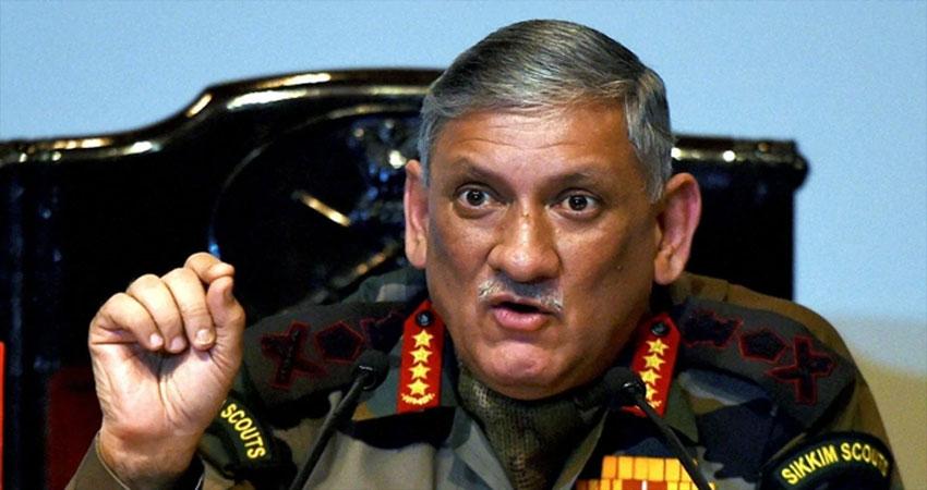 आर्मी चीफ ने कहा- PAK के 10 सेैनिकों को मार गिराया, हर हमले पर देंगे करारा जवाब