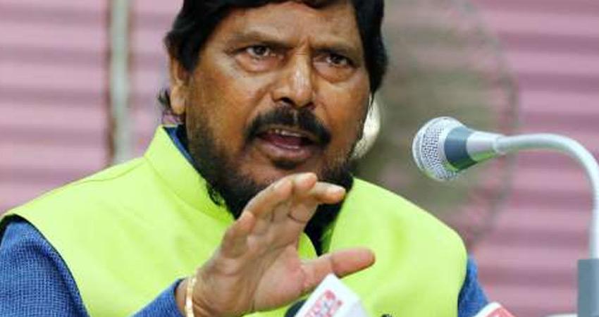 रामदास आठवले बोले- लोकप्रियता हासिल करने के लिए  निकाली जा रही किसान रैली