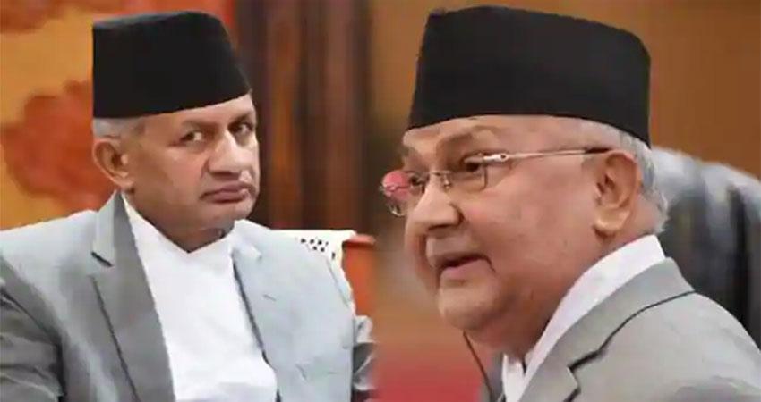 भारत विरोधी छवि के कारण ओली पर बरसे नेपाल के विदेश मंत्री, सुनाई खरी- खोटी