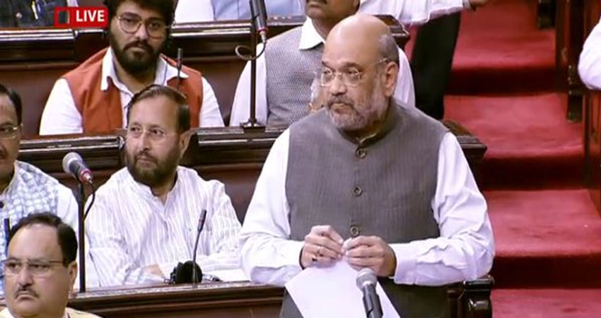 दिल्ली हिंसा पर राज्यसभा में शाह का बयान- दोषियों को नहीं बख्शा जाएगा