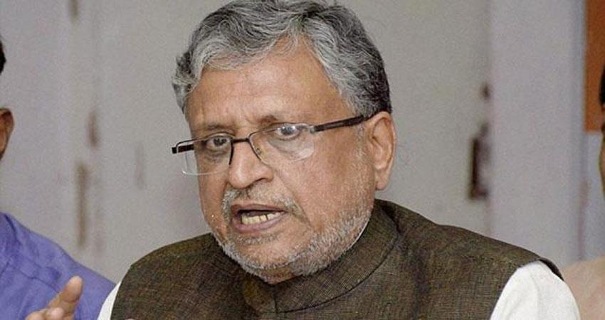 सुशील मोदी ने कहा- आगामी विधानसभा चुनाव में नीतीश ही रहेंगे चेहरा, सभी अटकलों को किया खारिज