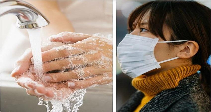 दिन में 6 बार हाथ धोने से और मास्क लगाकर रखने से कोरोना का खतरा 90% हो सकता है कम-शोध
