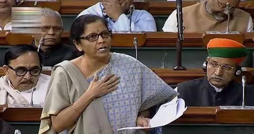 वित्त मंत्री निर्मला सीतारमण ने अर्थव्यवस्था पर चिदंबरम को दिया ये जवाब...