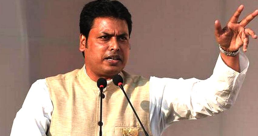 त्रिपुरा की आर्थिक हालत खराब, विशेष पैकेज के लिए मोदी-जेटली से मिलेंगे CM बिप्लब देब