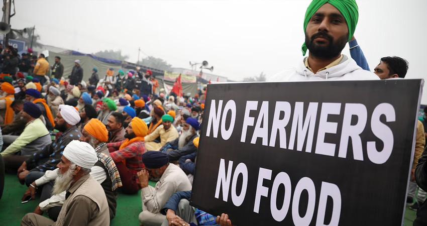 किसान आंदोलन : जींद टोल प्लाजा पर जारी धरने में किसान ने जहर खाकर दी जान