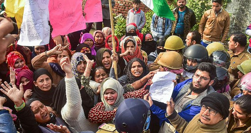 #CAA विरोधी प्रदर्शन : योगी राज में अलीगढ़ प्रशासन ने दिए 1000 लोगों को नोटिस