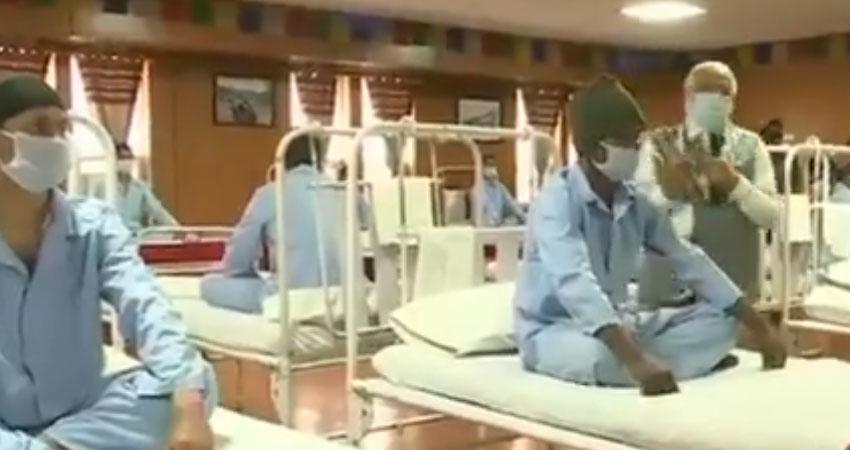 लेह में सैन्य मेडिकल सेंटर की सुविधाओं पर उठे सवाल, थल सेना ने दी सफाई