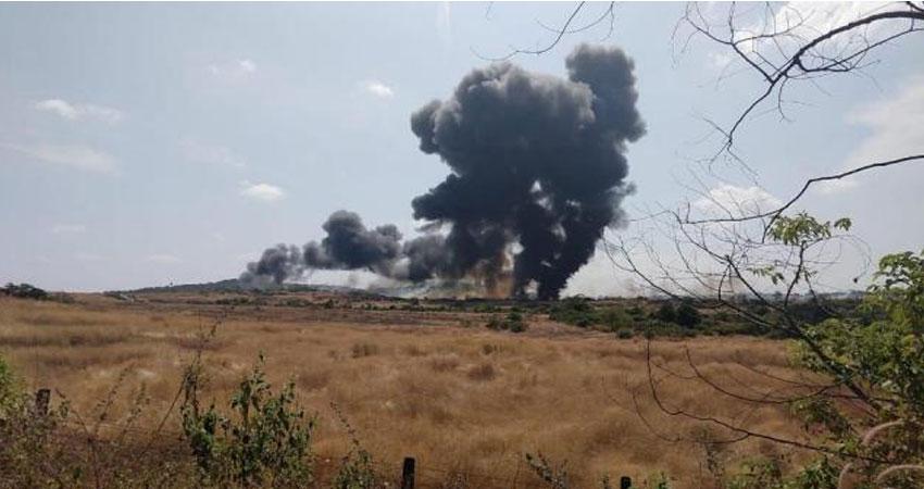 गोवा में नौसेना का विमान दुर्घटनाग्रस्त, कोई हताहत नहीं