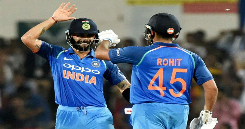 कोहली, रोहित आईसीसी वनडे रैंकिंग में पहले और दूसरे स्थान पर बरकरार