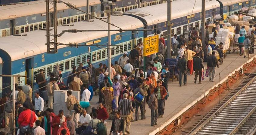 रेलवे के 11.58 लाख कर्मचारियों को मिलेगा 78 दिन के वेतन के बराबर बोनस