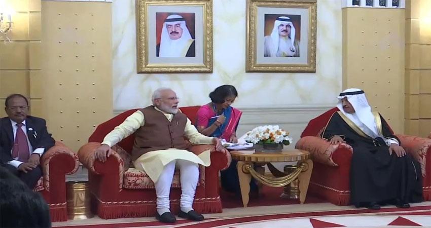 PM मोदी और NSA डोभाल तीन देशों की यात्रा के तीसरे चरण में आज बहरीन पहुंचे