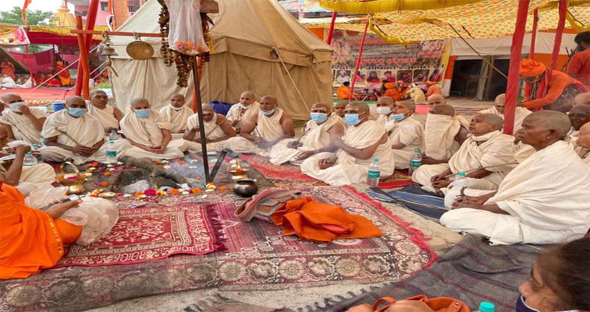 पिंडदान कर 200 महिलाएं बनेंगी नागा संन्यासी,संस्कार शुरू
