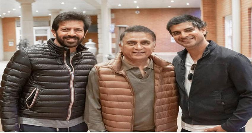 फिल्म 83: अभिनेता ताहिर भसीन ने  गावस्कर का आभार किया व्यक्त!