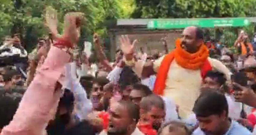 सांप्रदायिक नारेबाजी मामला: कोर्ट ने पिंकी चौधरी को 14 दिन की न्यायिक हिरासत में भेजा