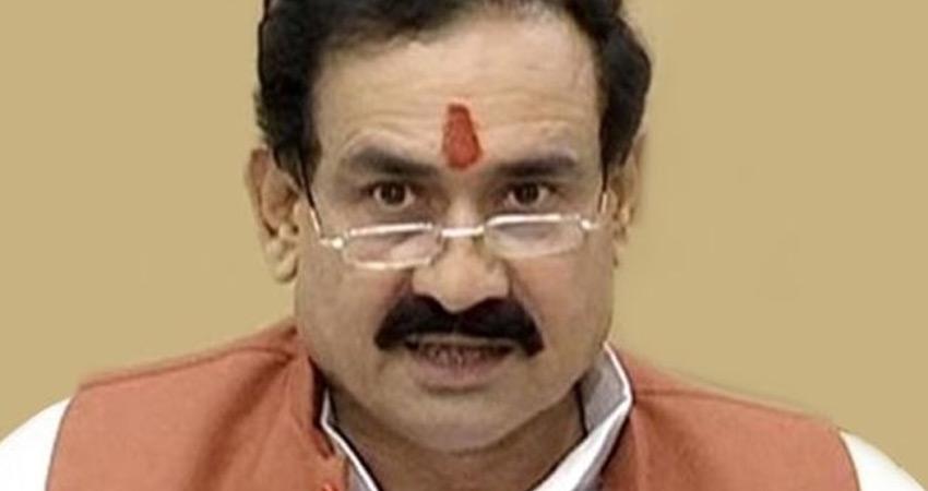 मप्र के गृहमंत्री नरोत्तम मिश्रा बोले- मैं मास्क नहीं पहनता, कांग्रेस ने उठाए सवाल