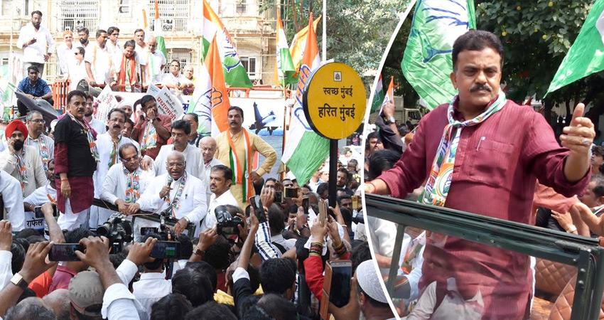 राफेल डील पर मोदी सरकार के खिलाफ कांग्रेस नेताओं का मार्च, JPC जांच पर अड़े