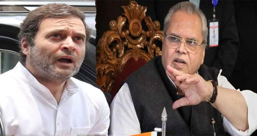 राहुल कश्मीर जाने को हुए बेताब, राज्यपाल ने कहा- 15 अगस्त के बाद देंगे जवाब