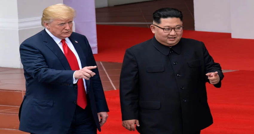 उत्तर कोरिया की जमीन पर कदम रखने वाले पहले अमेरिकी राष्ट्रपति बने ट्रम्प