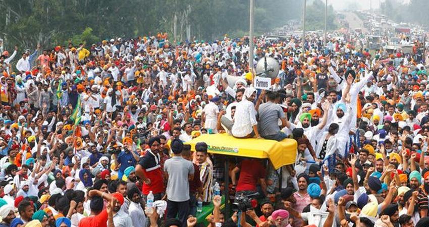 ''मालगाड़ियों को निरस्त कर किसानों के आंदोलन को बदनाम करना चाहती है मोदी सरकार''