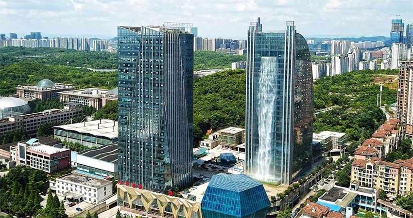 चीन की इस इमारत का मजाक उड़ा रहे हैं लोग, टॉवर मालिक परेशान