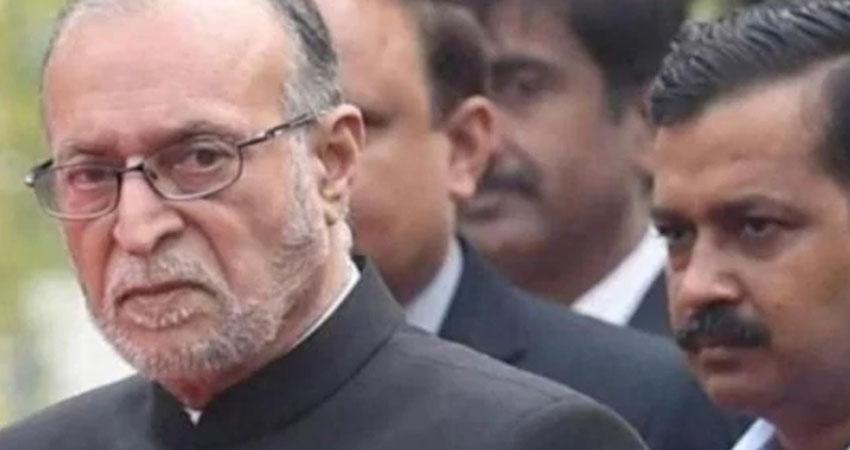उपराज्यपाल ने दिल्ली पुलिस प्रमुख को दियाहिरासत में लेने का अधिकार