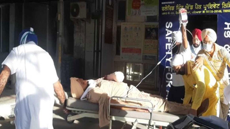 ASI हरजीत सिंह के कटे हाथ को लंबी सर्जरी के बाद जोड़ा गया, CM अमरिंदर ने ली राहत की सांस