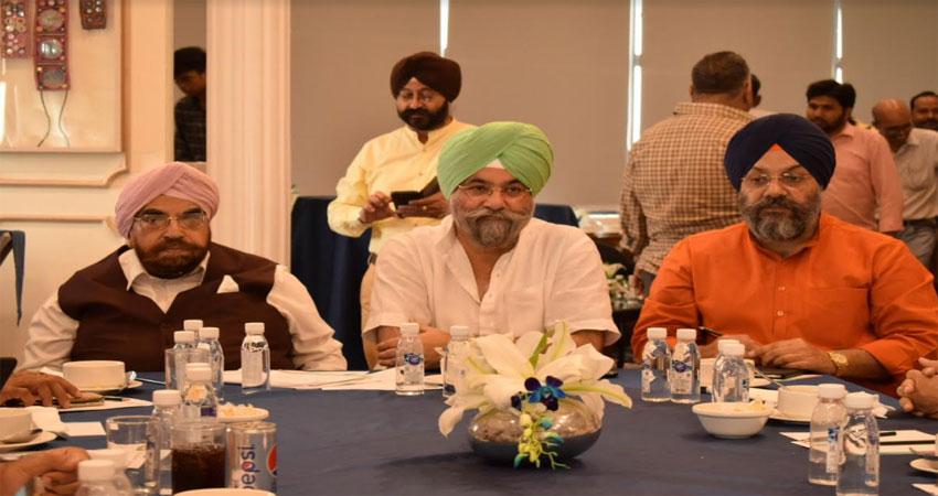 राजू चड्ढा ने पंजाब फोरम के साथ गुरु नानकदेव जी के 550वें समारोह पर की चर्चा
