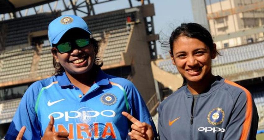 मंधाना, झूलन आईसीसी महिला ODI रैंकिंग में शीर्ष पर बरकरार