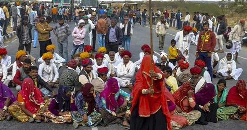 राजस्थान में गुर्जर आंदोलन को लेकर बैंसला 9 नवंबर से करेंगे चक्काजाम
