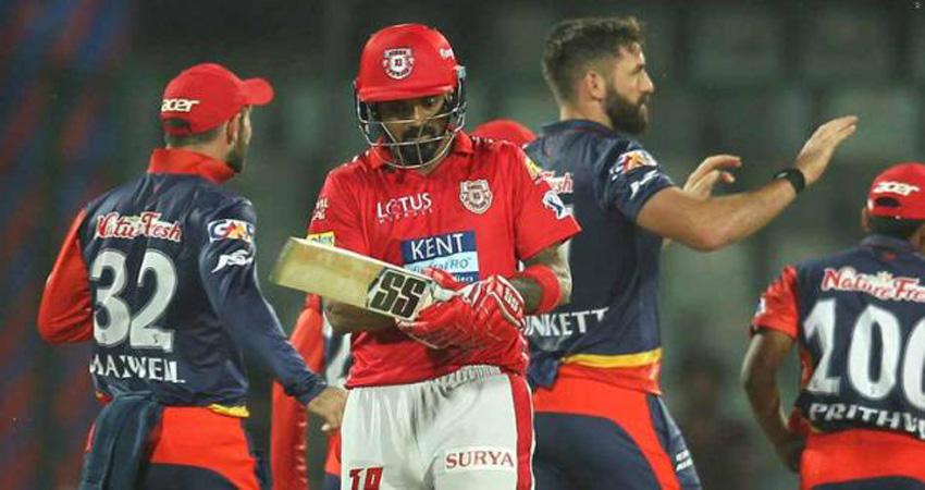 रोमांचक मुकाबले में किंग्स इलेवन पंजाब ने दिल्ली को 4 रन से दी मात