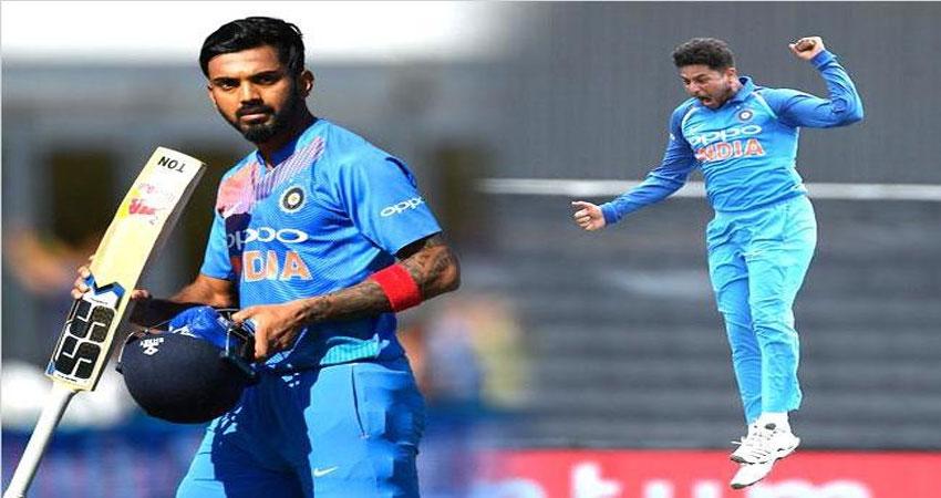 टी20 रेंकिंग में राहुल को एक पायदान का फायदा, कुलदीप एक स्थान खिसके